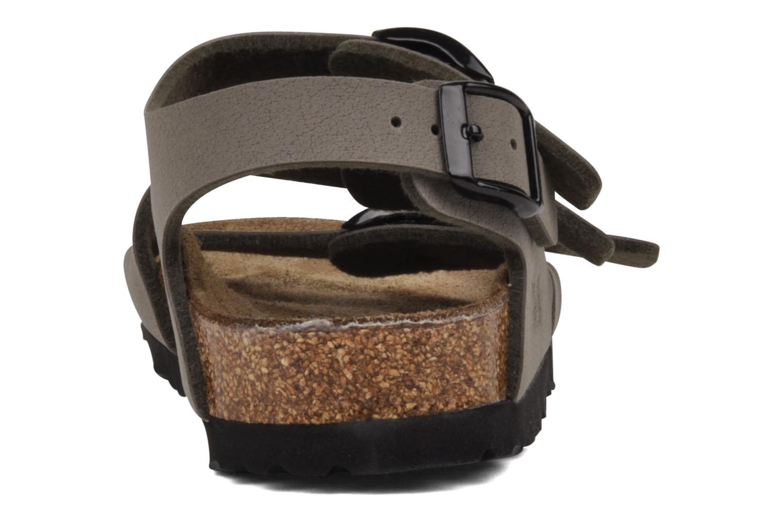 Sandalen Birki's Ellice E grau ansicht von rechts