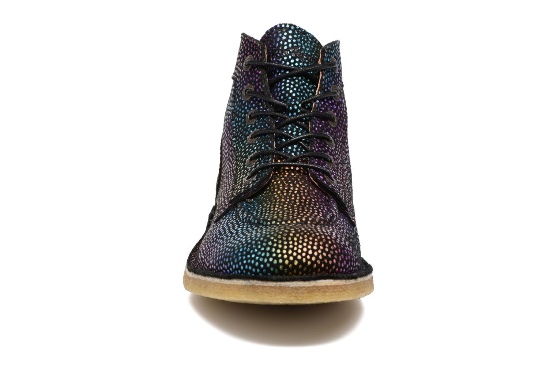 Chaussures à lacets Kickers Kick Legend Multicolore vue portées chaussures
