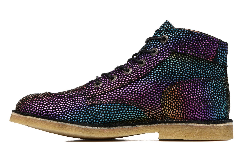 Chaussures à lacets Kickers Kick Legend Multicolore vue face