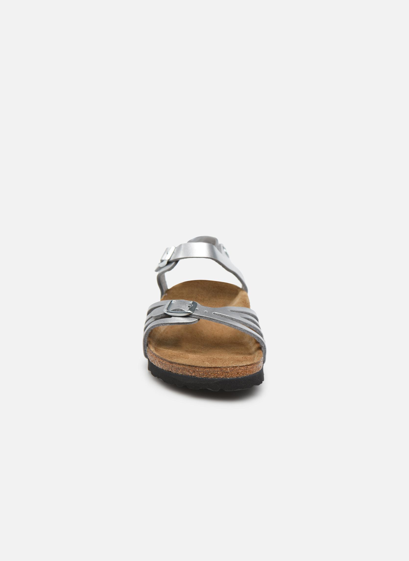 Sandales et nu-pieds Birkenstock Bali W Argent vue portées chaussures