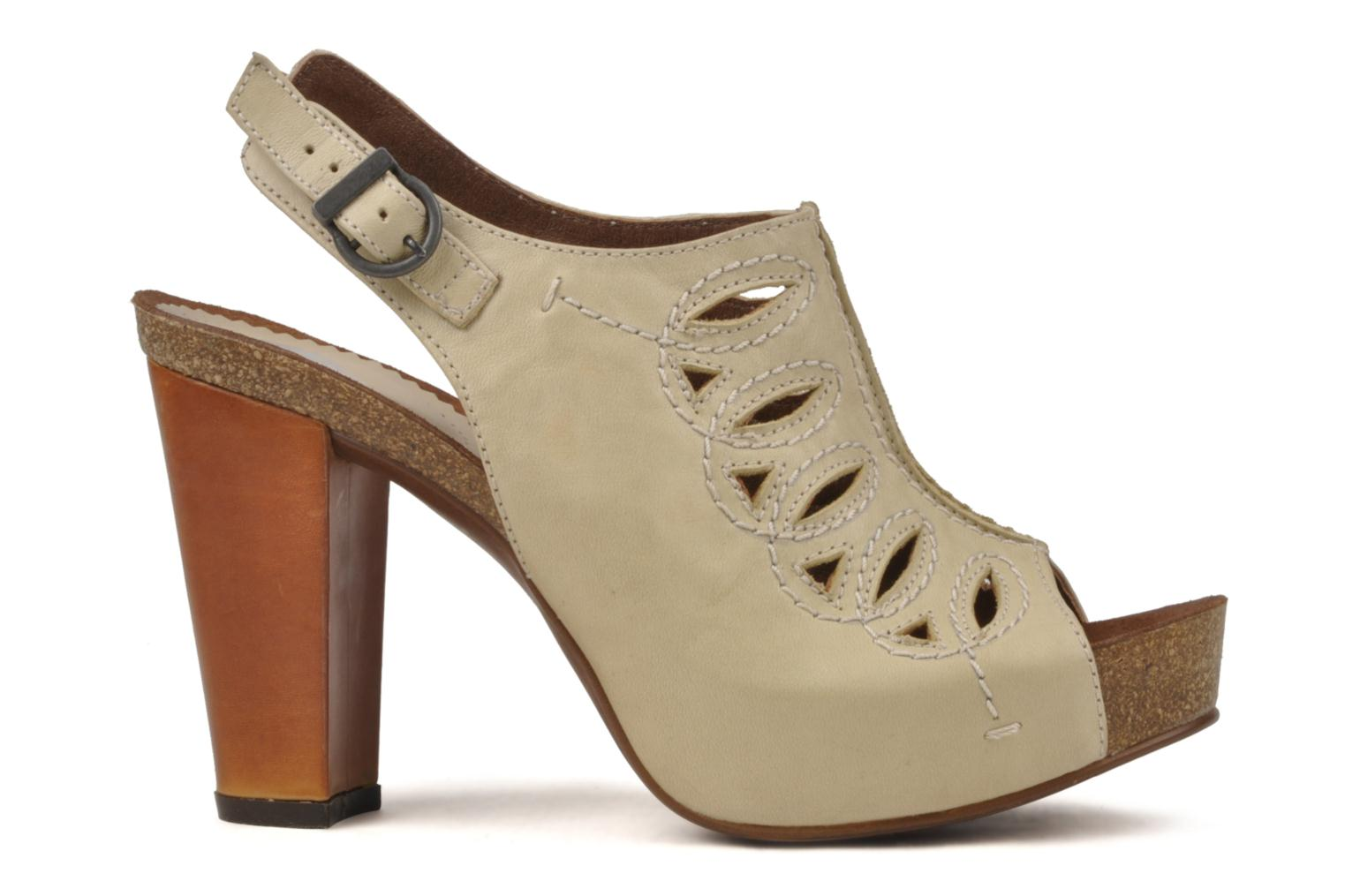 Sandals Jeffrey Campbell Tohill Beige back view