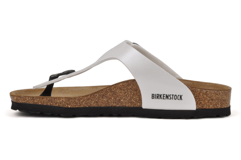 Slippers Birkenstock Gizeh E Wit voorkant