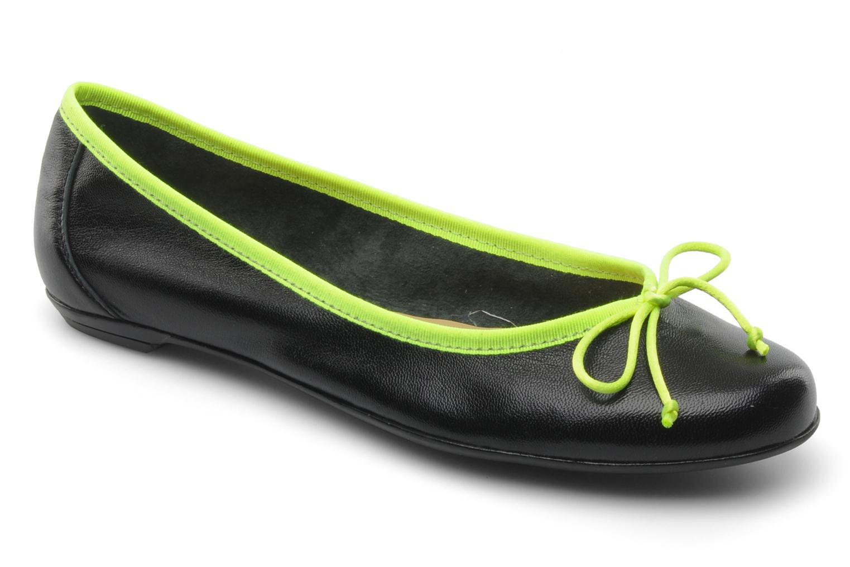 Ballet pumps Valensi Vega Black detailed view/ Pair view