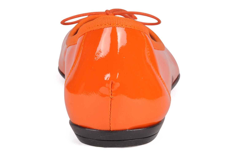 Ballerines Valensi Vega Orange vue droite