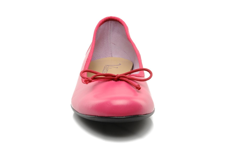 Ballerines Valensi Vega Rose vue portées chaussures
