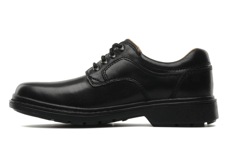 Chaussures à lacets Clarks Rockie Lo Gtx Noir vue face