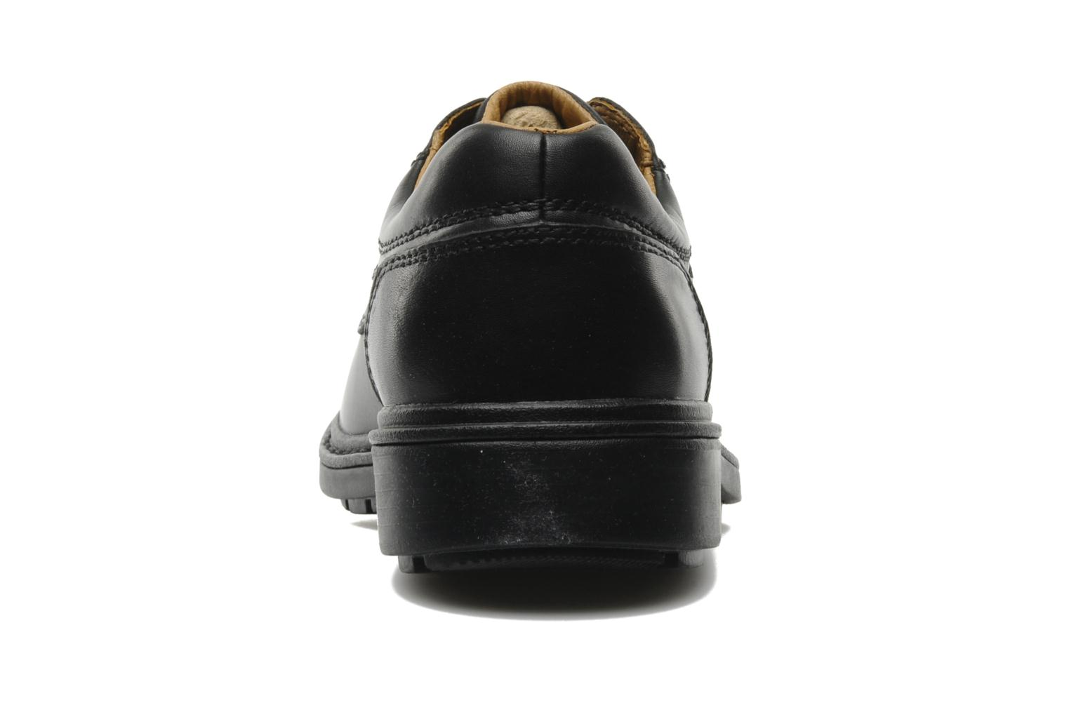 Lace-up shoes Clarks Rockie Lo Gtx Black view from the right