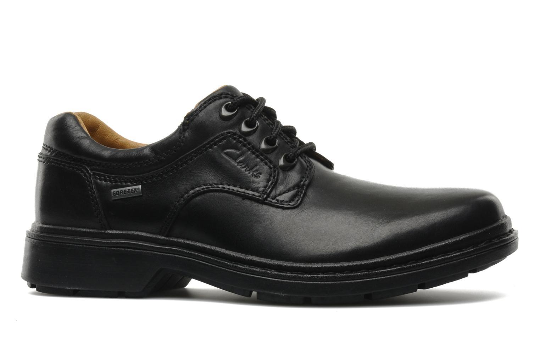 Chaussures à lacets Clarks Rockie Lo Gtx Noir vue derrière