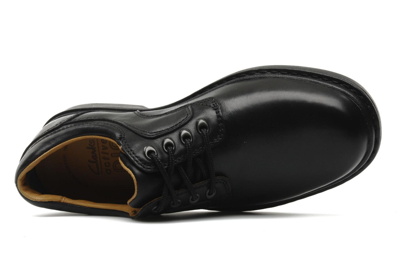 Chaussures à lacets Clarks Rockie Lo Gtx Noir vue gauche
