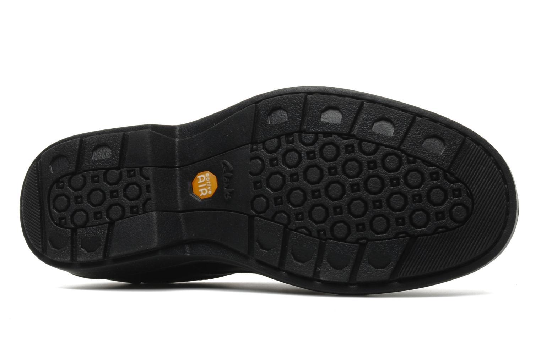 Chaussures à lacets Clarks Rockie Lo Gtx Noir vue haut