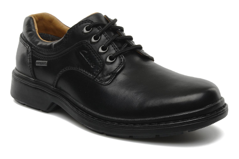 Chaussures à lacets Clarks Rockie Lo Gtx Noir vue détail/paire