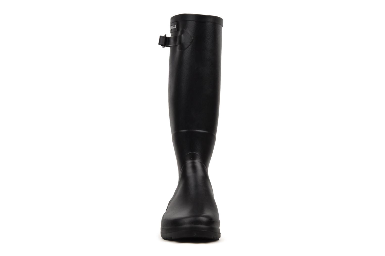 Bottes Aigle Chantebelle Ml Noir vue portées chaussures