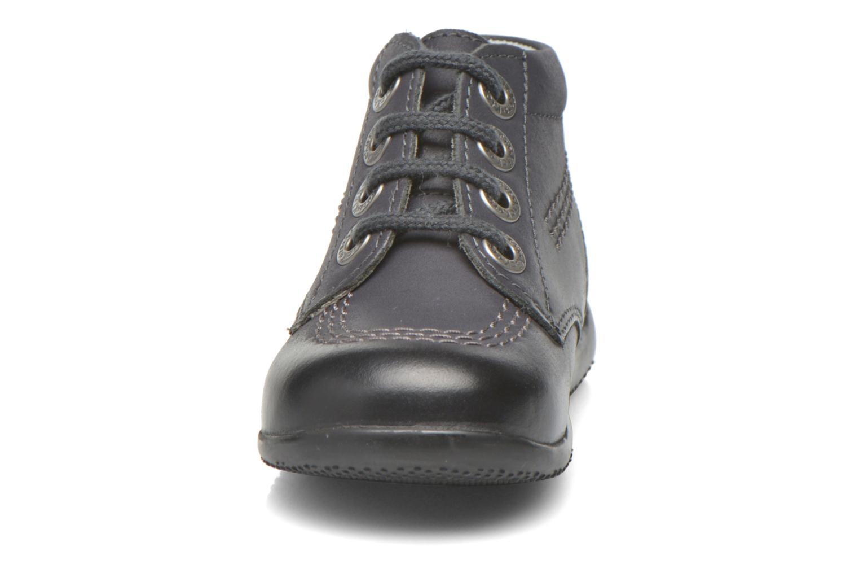 Schnürschuhe Kickers Billy schwarz schuhe getragen