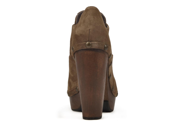 Chaussures à lacets Castaner Katia Marron vue droite