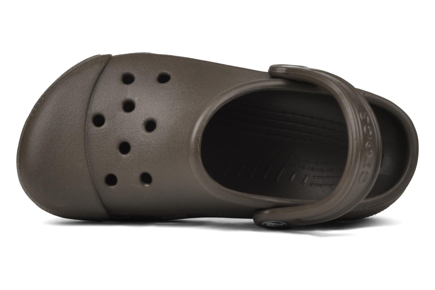 Clogs & Pantoletten Crocs Silver Cloud braun ansicht von links