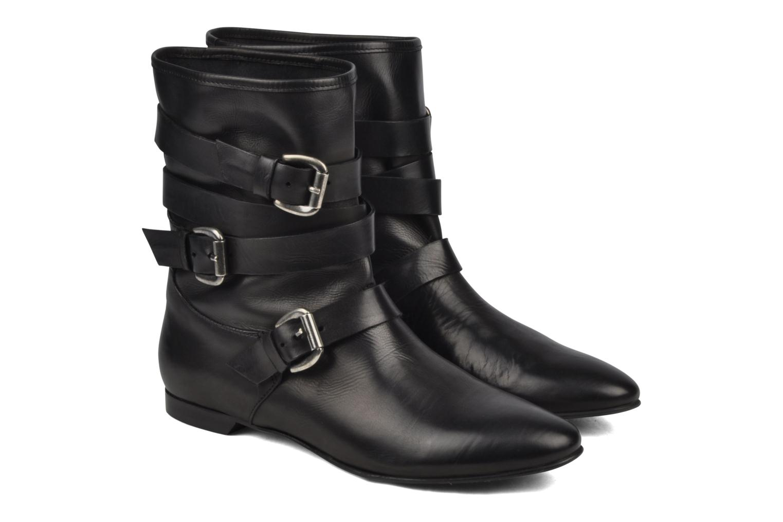Boots en enkellaarsjes Manas LUNA Zwart 3/4'