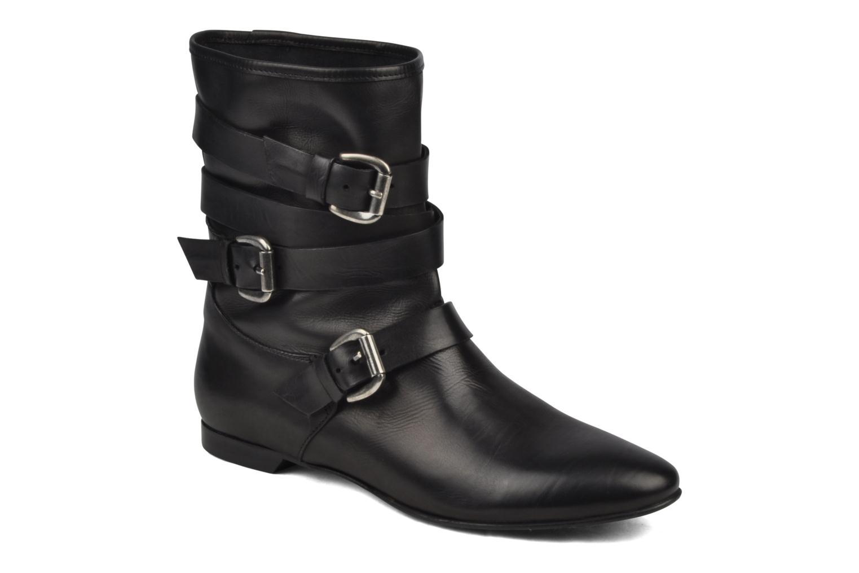 Boots en enkellaarsjes Manas LUNA Zwart detail