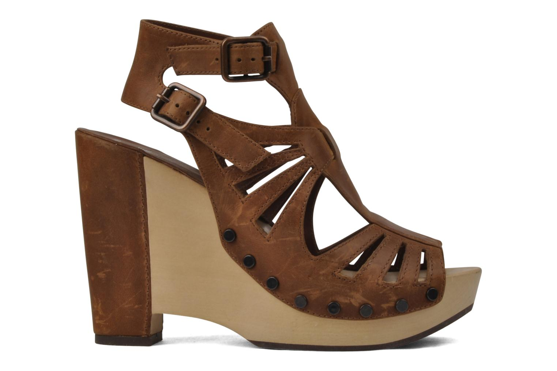Sandalen Belle Arizona braun ansicht von hinten