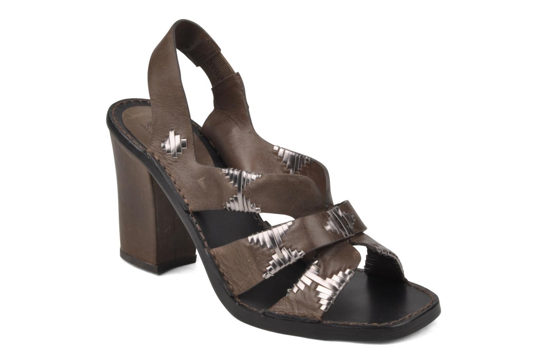 Sandales et nu-pieds Belle Catarina Marron vue détail/paire
