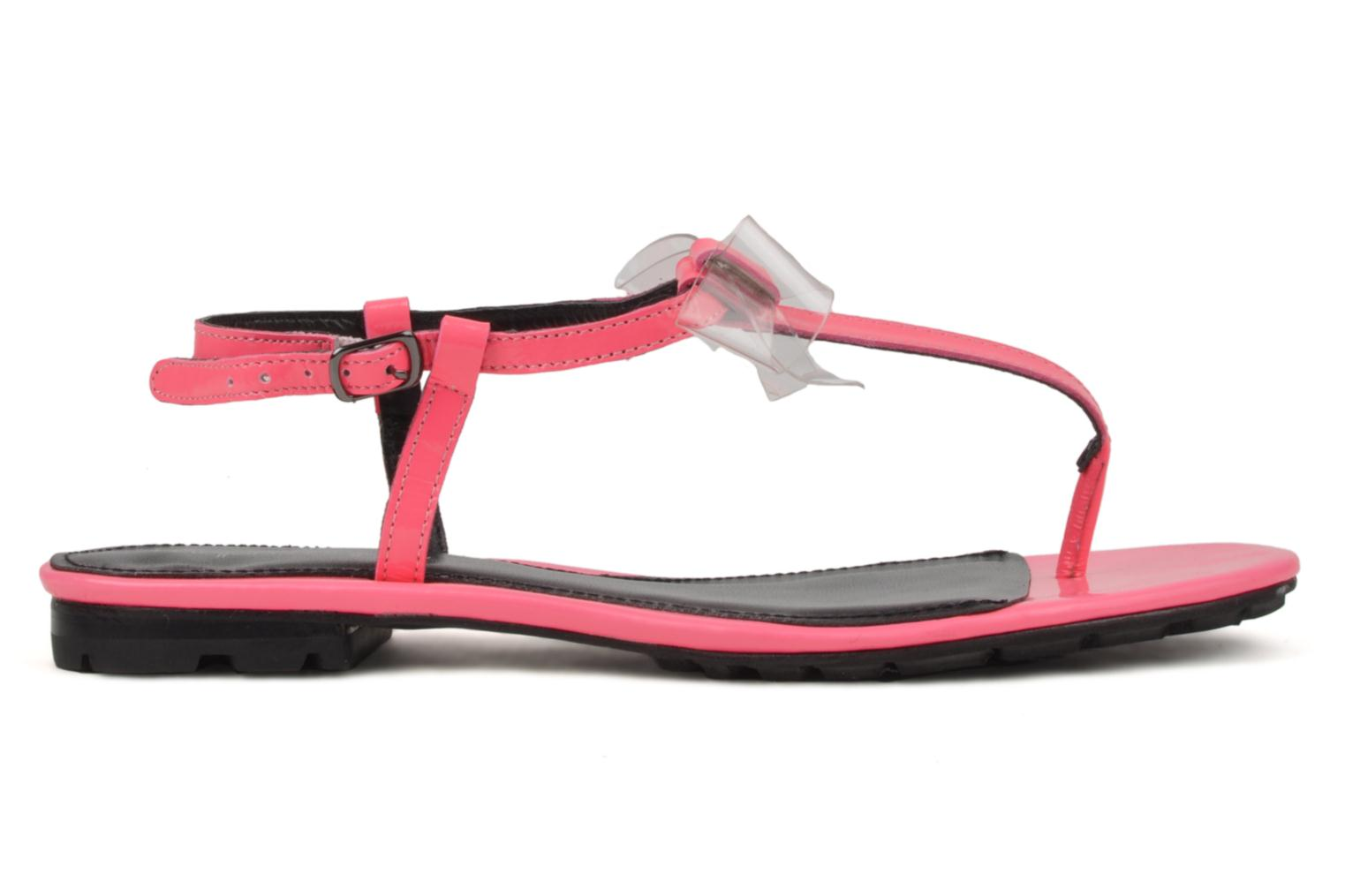 Sandals Mellow Yellow Hektok Pink back view