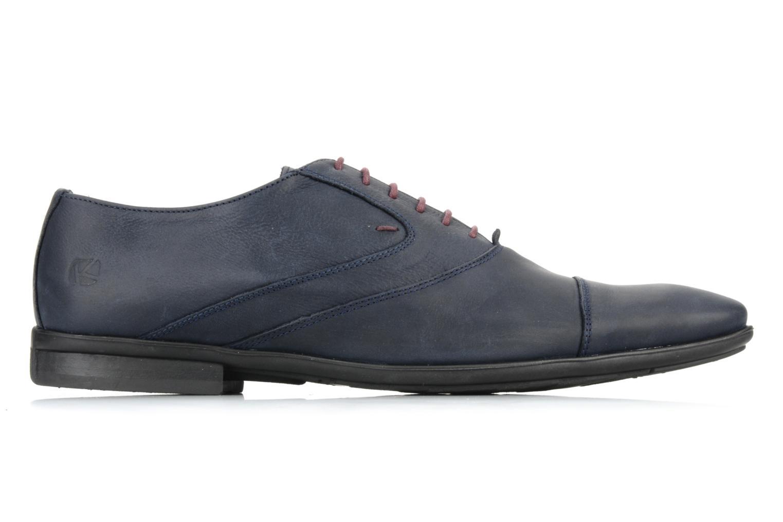 Chaussures à lacets Kost KEFO4 Bleu vue derrière