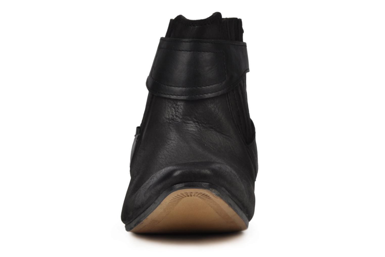 Boots en enkellaarsjes H By Hudson Newob Zwart model