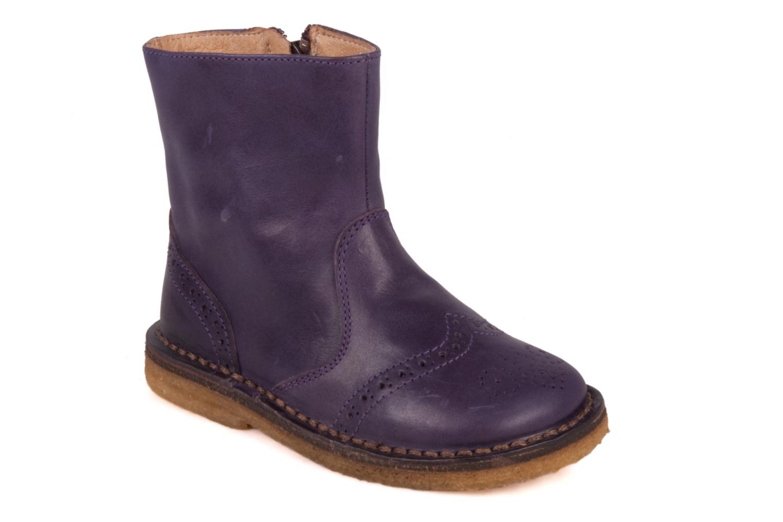 Boots en enkellaarsjes PèPè Alberto Paars detail
