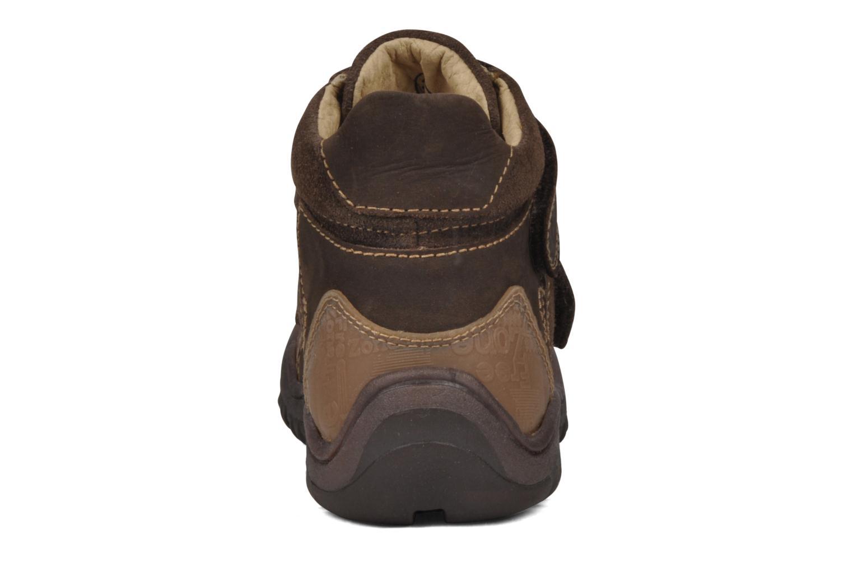 Bottines et boots GBB Mickael Marron vue droite