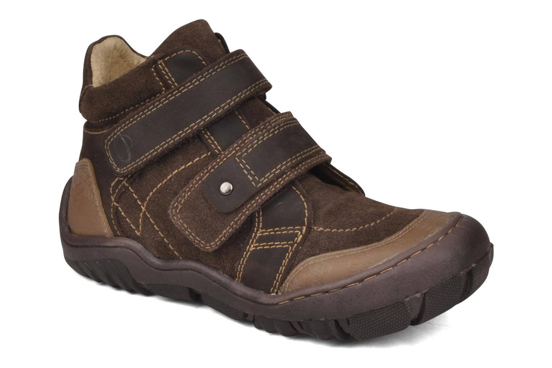 Bottines et boots GBB Mickael Marron vue détail/paire