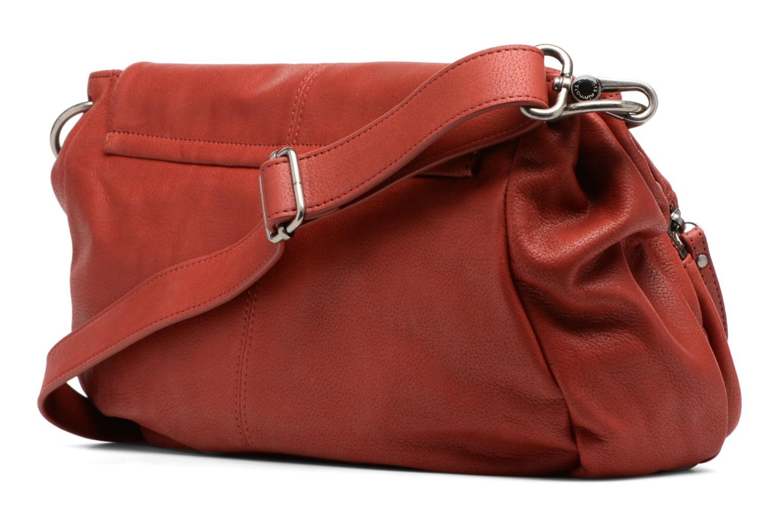 Handtaschen Nat & Nin Lola rot ansicht von rechts