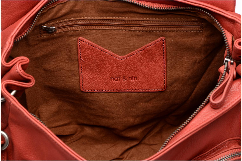 Handtaschen Nat & Nin Lola rot ansicht von hinten
