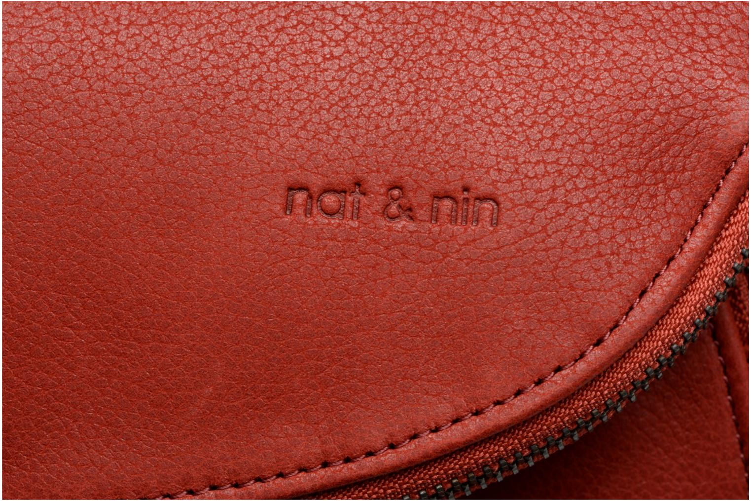 Handbags Nat & Nin Lola Red view from the left