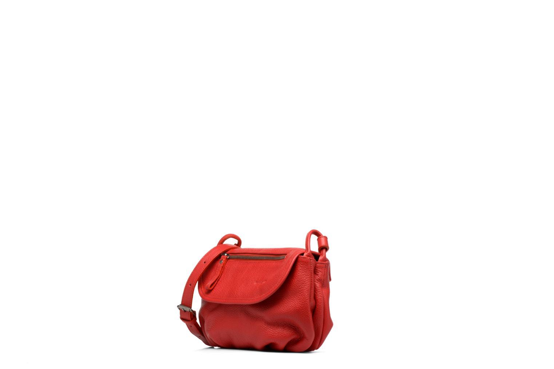 Handtaschen Nat & Nin Jenny rot schuhe getragen