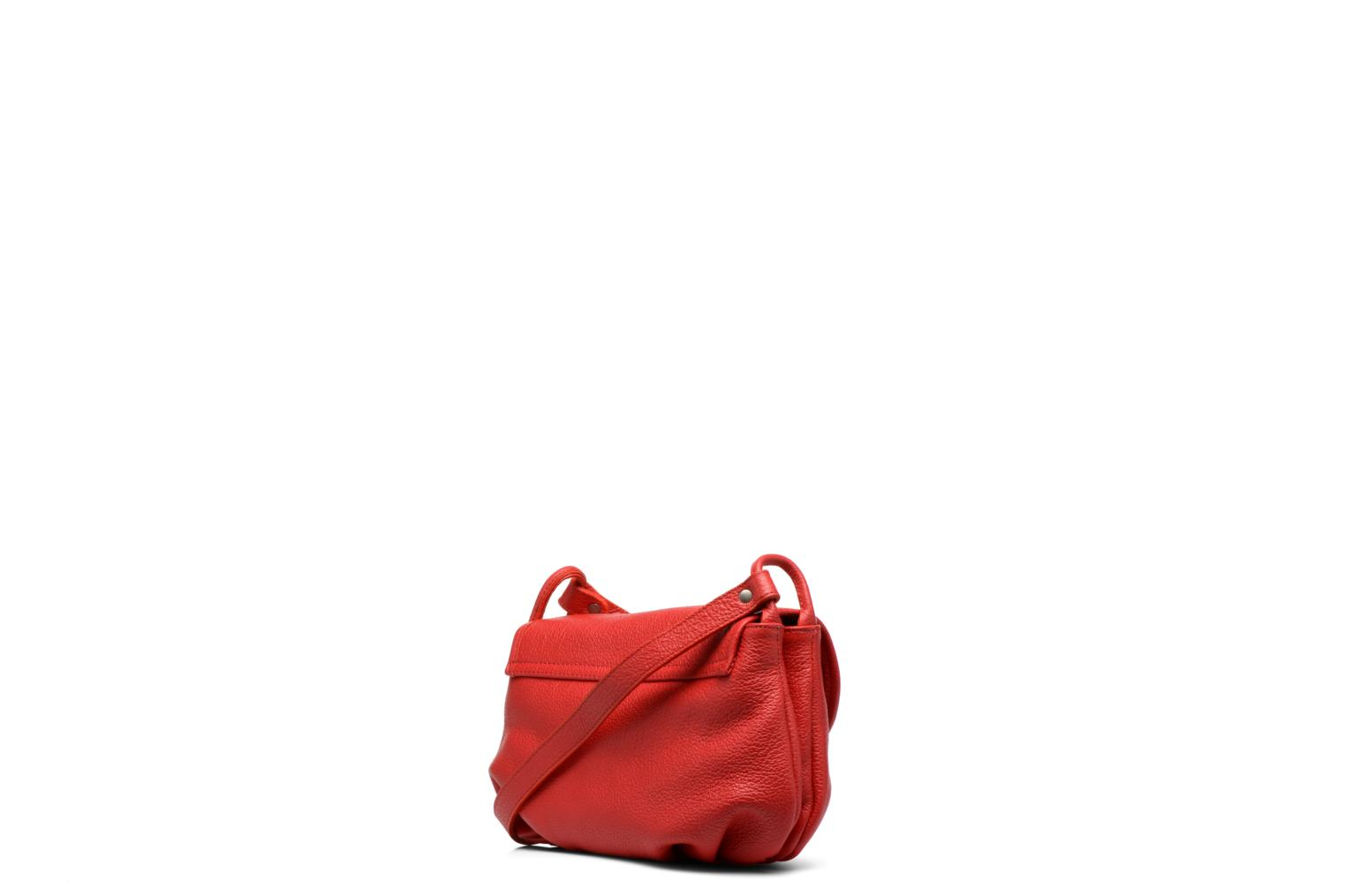 Handtaschen Nat & Nin Jenny rot ansicht von rechts