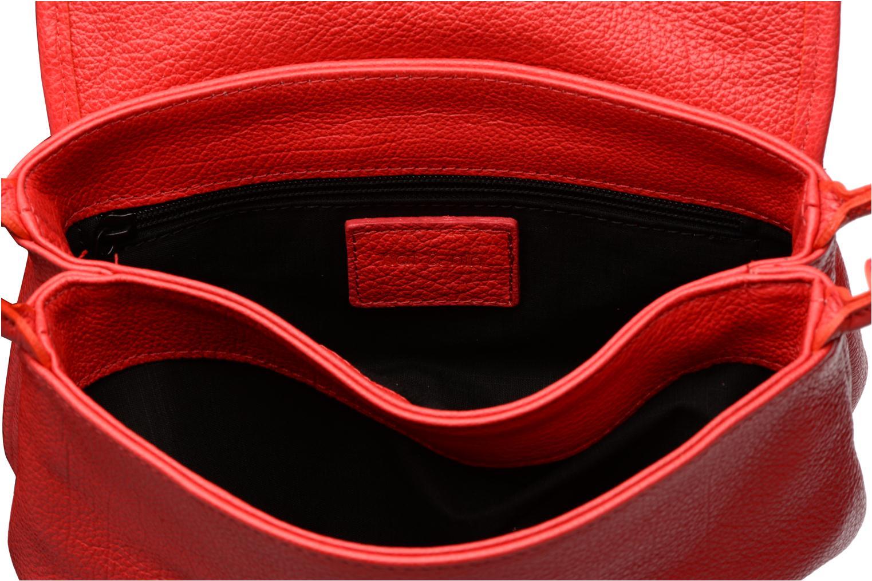 Handtaschen Nat & Nin Jenny rot ansicht von hinten