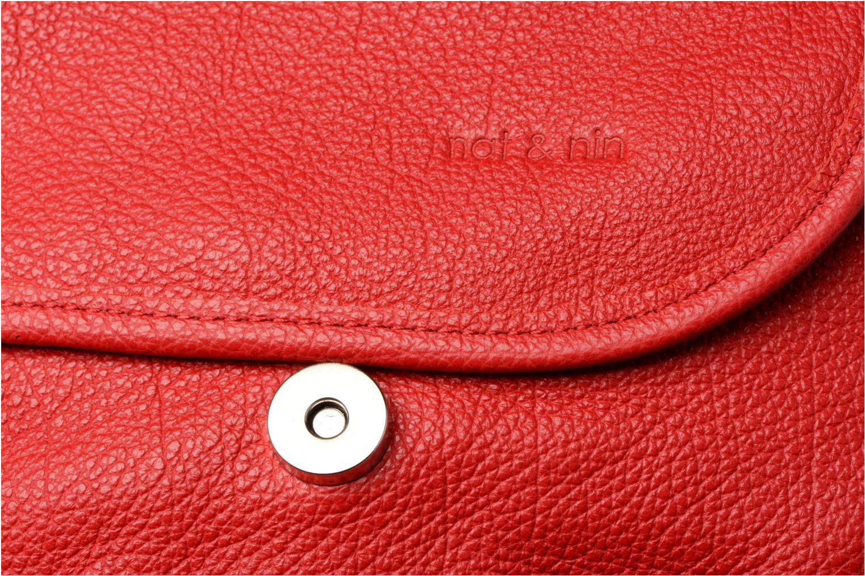 Handtaschen Nat & Nin Jenny rot ansicht von links