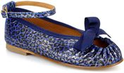 Animal print blue klein blue klein