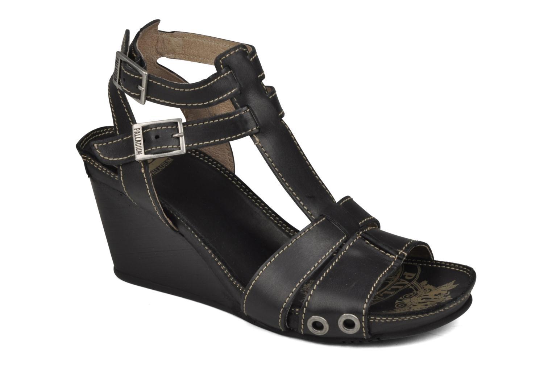 Sandales et nu-pieds Palladium SHEIMA Noir vue détail/paire
