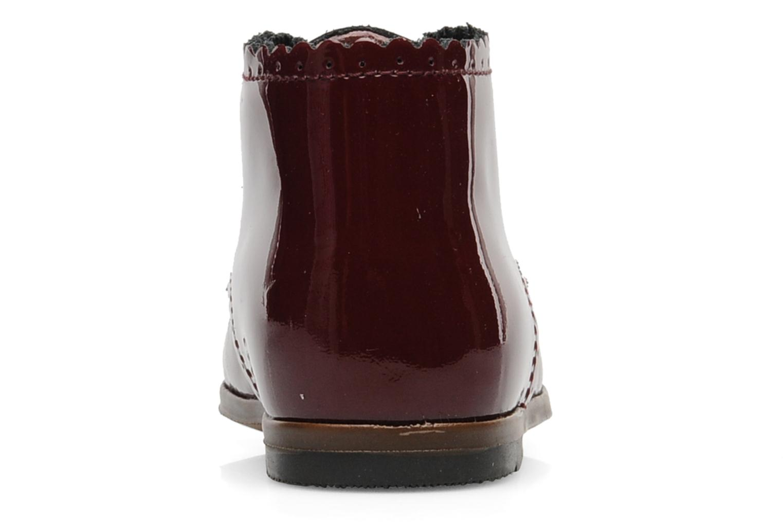 Boots en enkellaarsjes Little Mary Vivaldi Bordeaux rechts