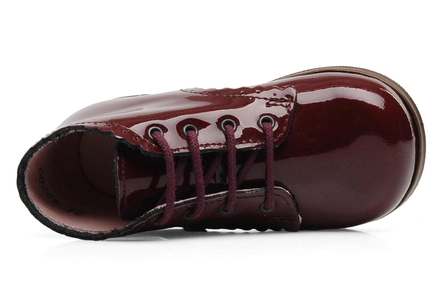 Boots en enkellaarsjes Little Mary Vivaldi Bordeaux links