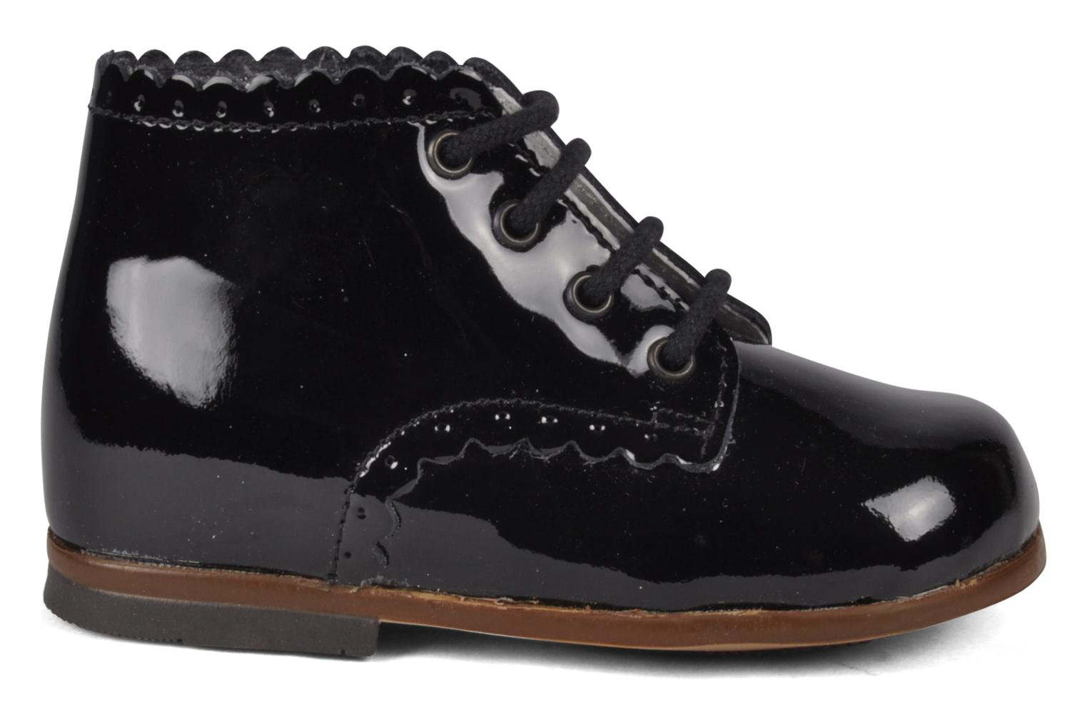 Botines  Little Mary Vivaldi Negro vistra trasera