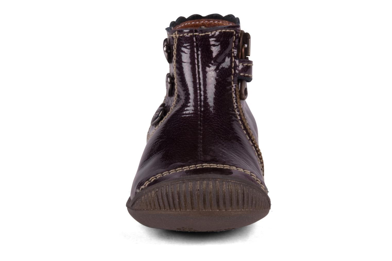 Ankle boots Little Mary Goelette Brown model view