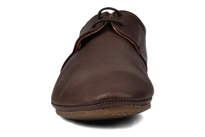 Schnürschuhe Neosens graciano s801 braun schuhe getragen