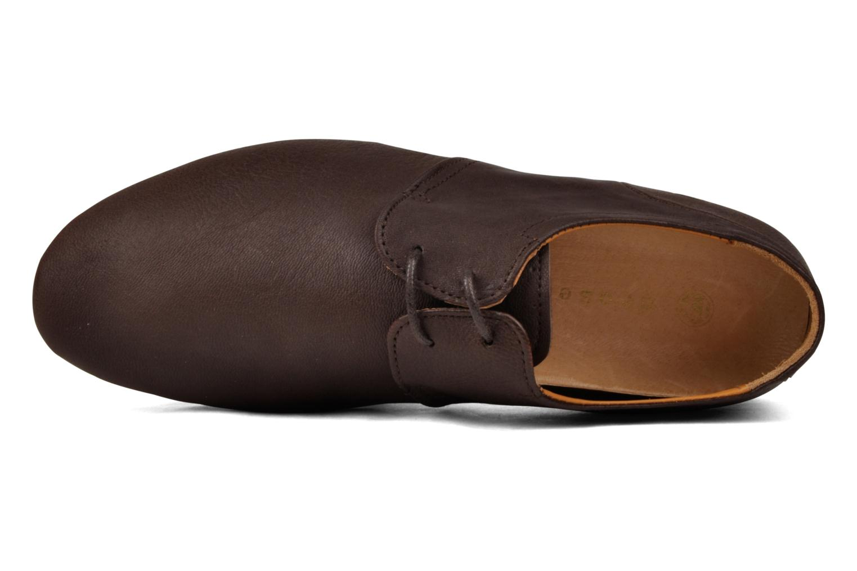 Schnürschuhe Neosens graciano s801 braun ansicht von links