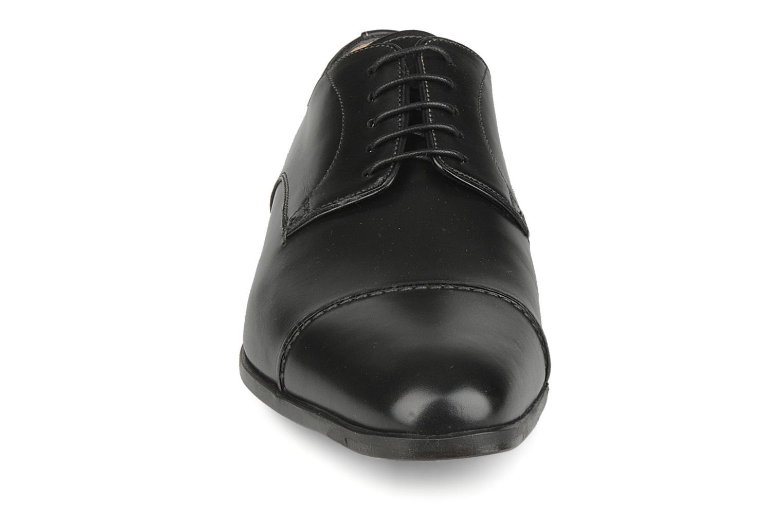 Chaussures à lacets Santoni William 10096 Noir vue portées chaussures