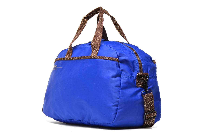 Sacs de sport Bensimon Sport Bag Bleu vue portées chaussures