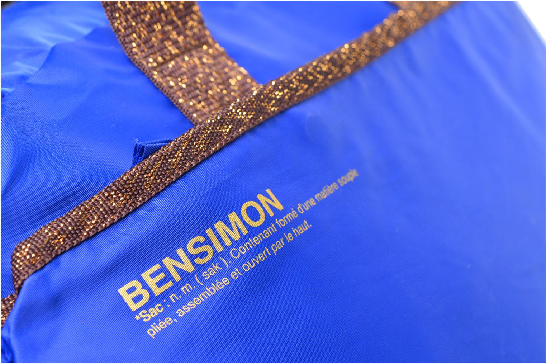 Bolsas de deporte Bensimon Sport Bag Azul vista lateral izquierda