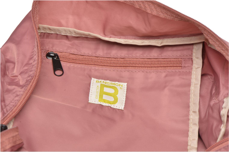 Sporttaschen Bensimon Sport Bag rosa ansicht von hinten