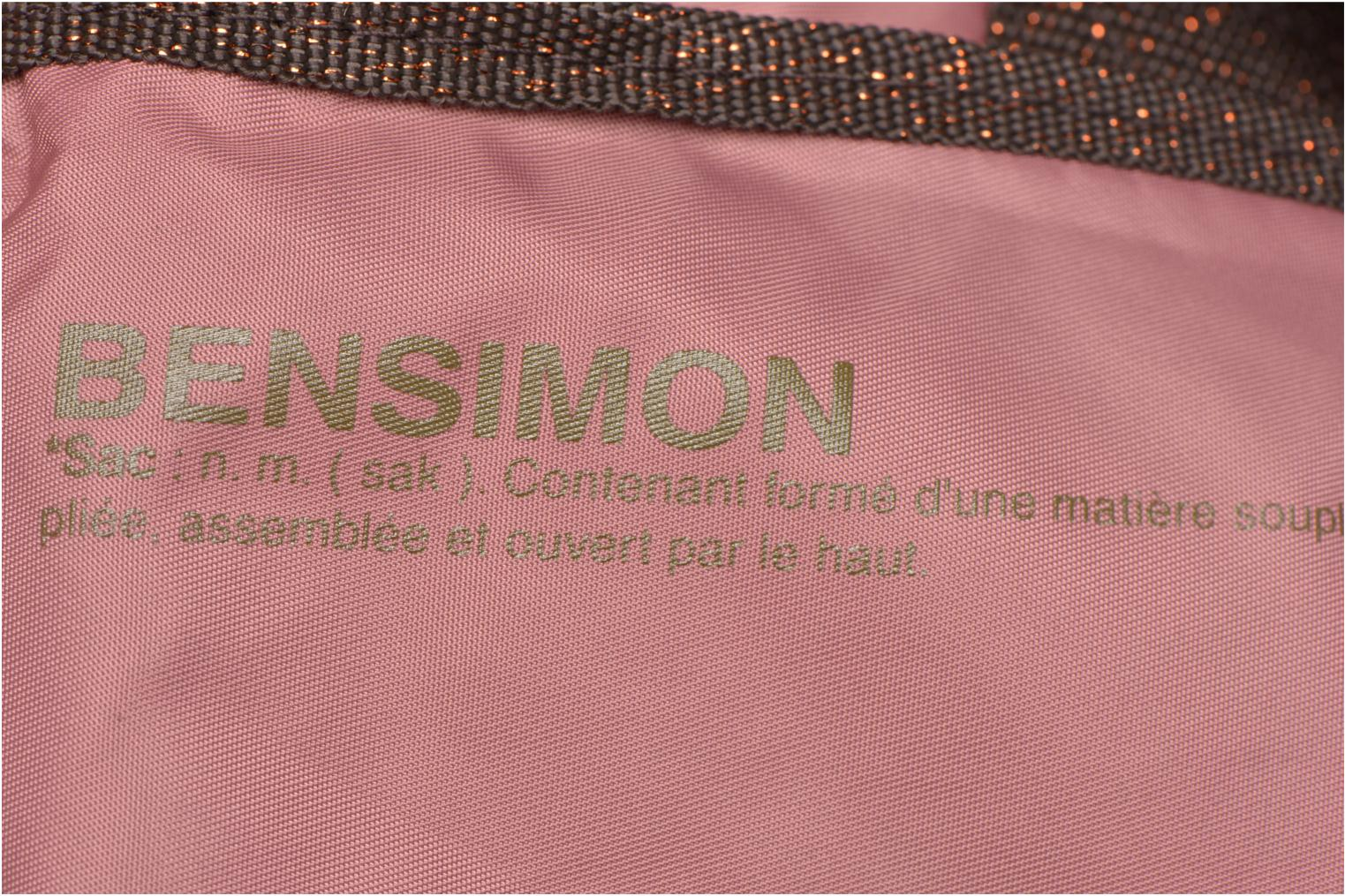 Sporttassen Bensimon Sport Bag Roze links