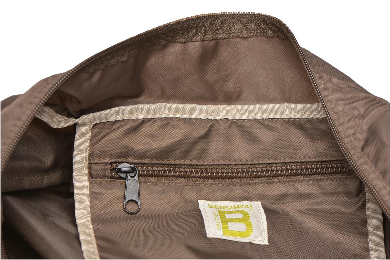 Sporttaschen Bensimon Sport Bag braun ansicht von hinten
